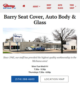 Barry Seat Cover, South Bend, IN