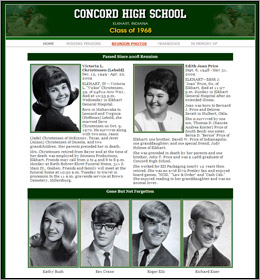 Concord High School Class of 1968 40-year Reunion