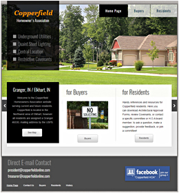 Copperfield Homeowner's Association, Granger, IN 46530