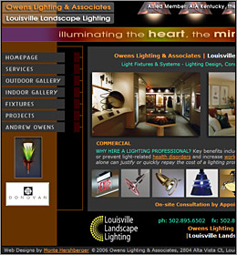Owens Lighting - Louisville Landscape Lighting