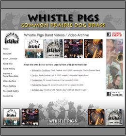 Whistle Pigs Band